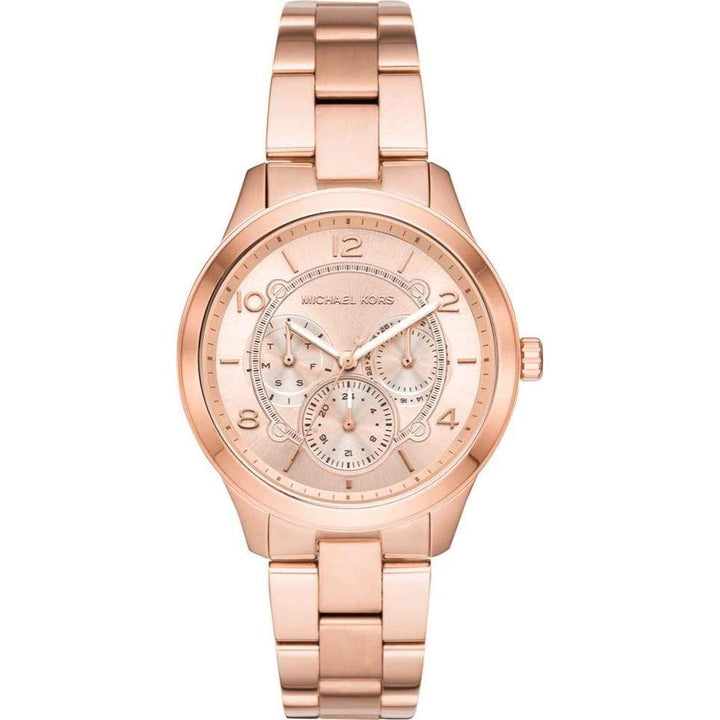 Michael Kors Watches Michael Kors Runway Rose Dial Rose Gold-tone Ladies Watch 38mm MK6589