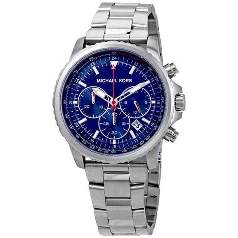 Michael Kors Watches Michael Kors Theroux Chronograph Quartz Blue Dial Men's Watch 42mm MK8641