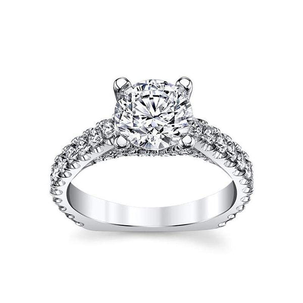 Michael M Engagement Ring Michael M Diamond Engagement Ring R553-1.5