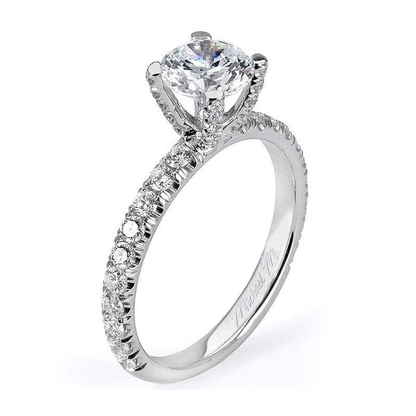 Michael M Engagement Ring Michael M Pave Engagement Ring R481-1
