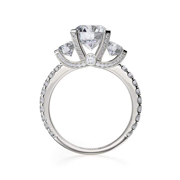 Michael M Engagement Ring Michael M Trinity R422-2
