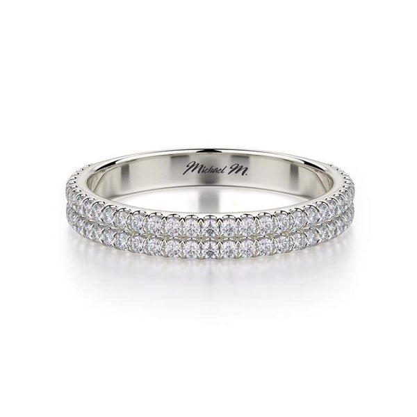 Michael M Wedding Band Michael M Diamond Wedding Band R688B