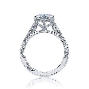 Tacori Engagement Ring Tacori 0.33ctw Diamond Petite Crescent Soid Bottom Ring 18K