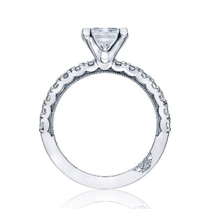 Tacori Engagement Ring Tacori 0.77ctw Diamond Clean Crescent Ring 18K