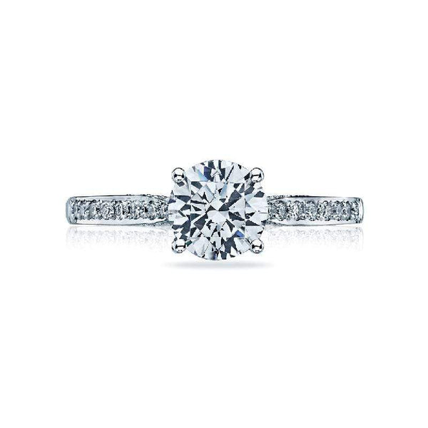 Tacori Engagement Ring Tacori Dantela 0.20ctw Round Pave Diamond Ring 18K