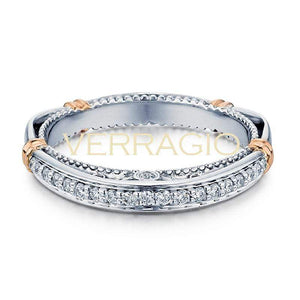 Verragio Wedding Band Verragio Parisian 128W