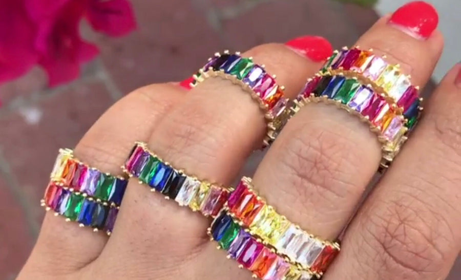 Colorful Eternity Band
