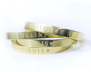 Personalized Cuff Bangle
