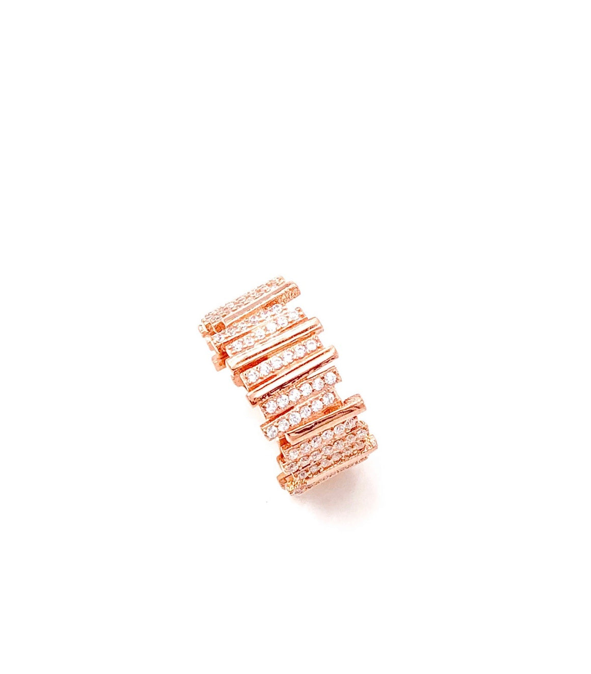 Dainty Baguette Eternity Band