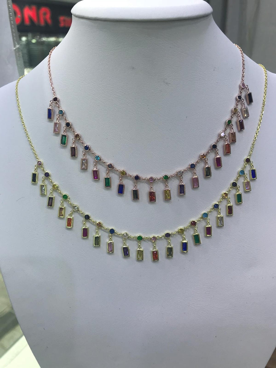Dainty Dangle Necklace