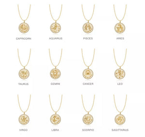 Horoscope Pendant Necklace