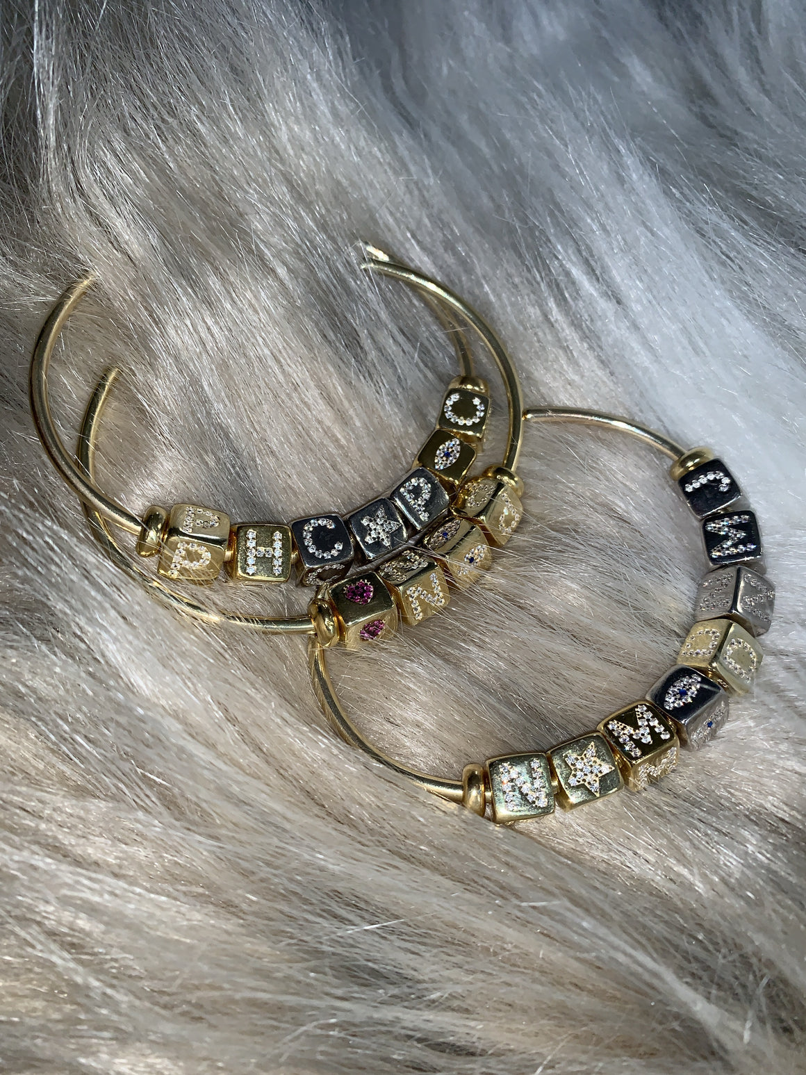 Personalized Dice Bangle