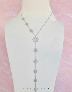 Stardust Lariat Necklace