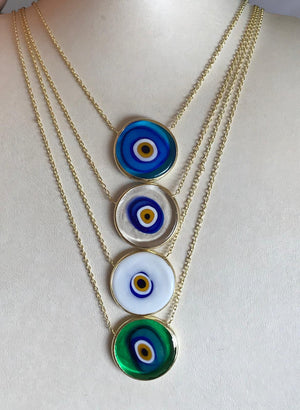Antique Eye Necklace