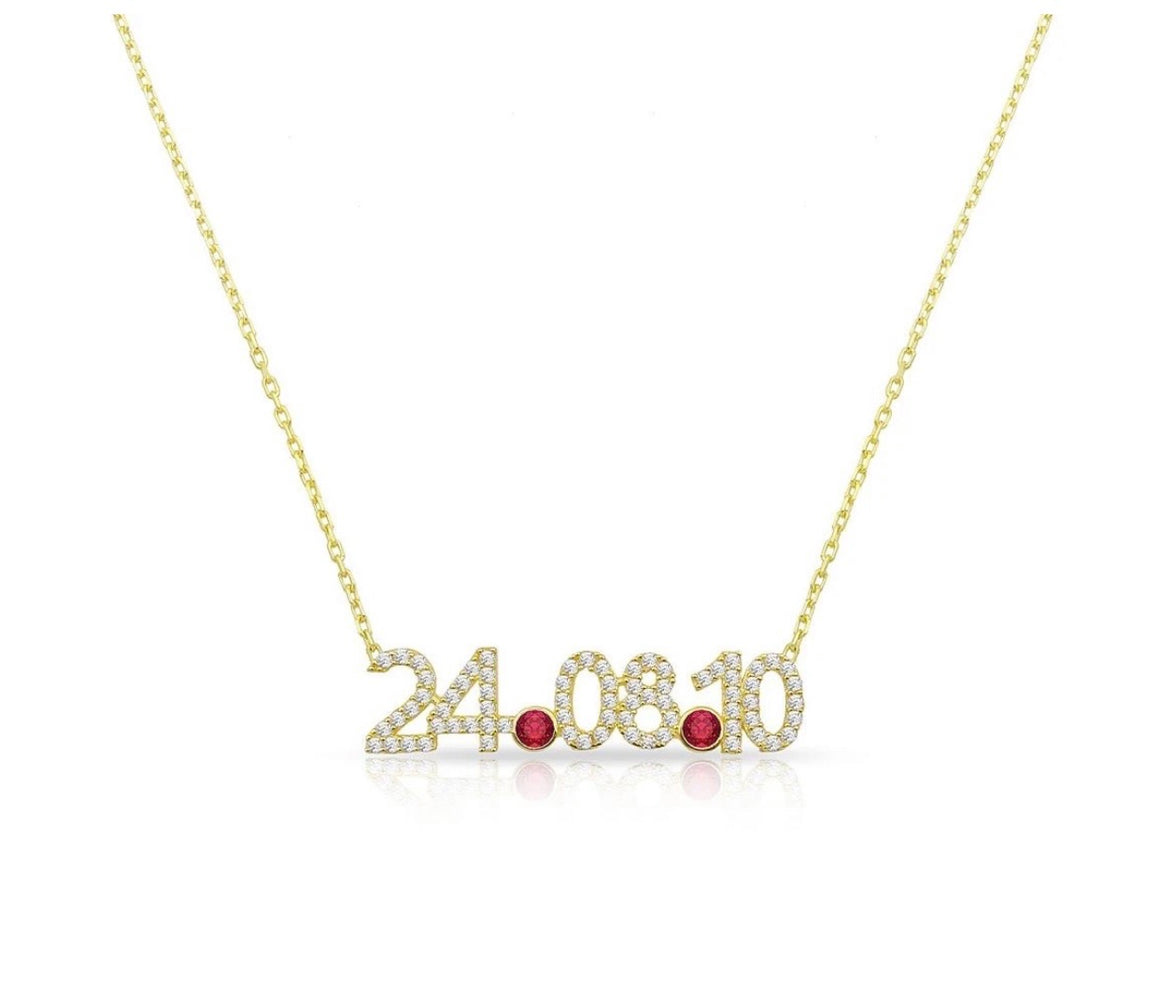 Adjustable Date Necklace