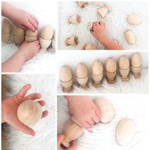 Load image into Gallery viewer, Montessori Egg and Cup - Set of Six