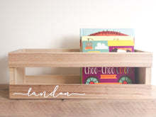 Load image into Gallery viewer, Personalized Wooden Crate