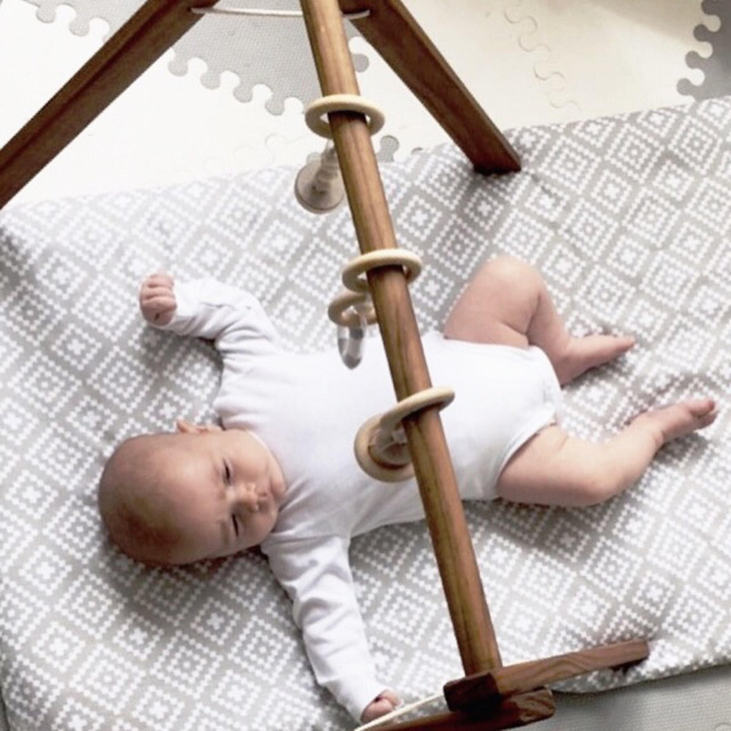 Baby Gym in Medium Stain - On Maple Lane