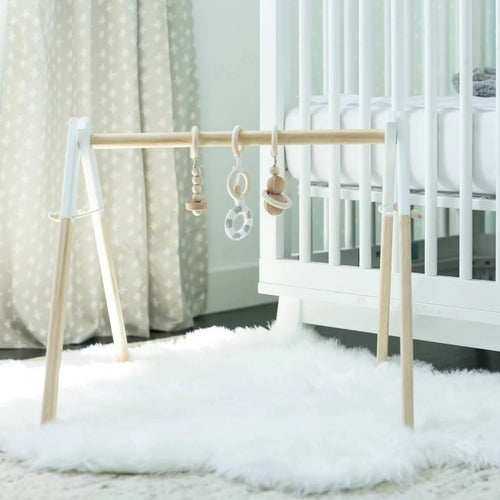 Baby Gym with White Tips - On Maple Lane