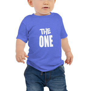 "6M-24M Short Sleeve Tee ""THE ONE"""