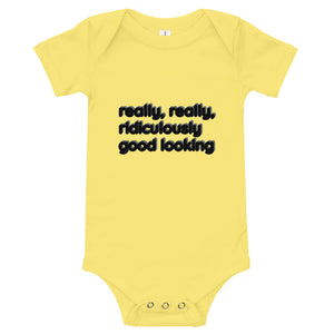 "3M-24M One Piece ""RIDICULOUSLY GOOD LOOKING"""