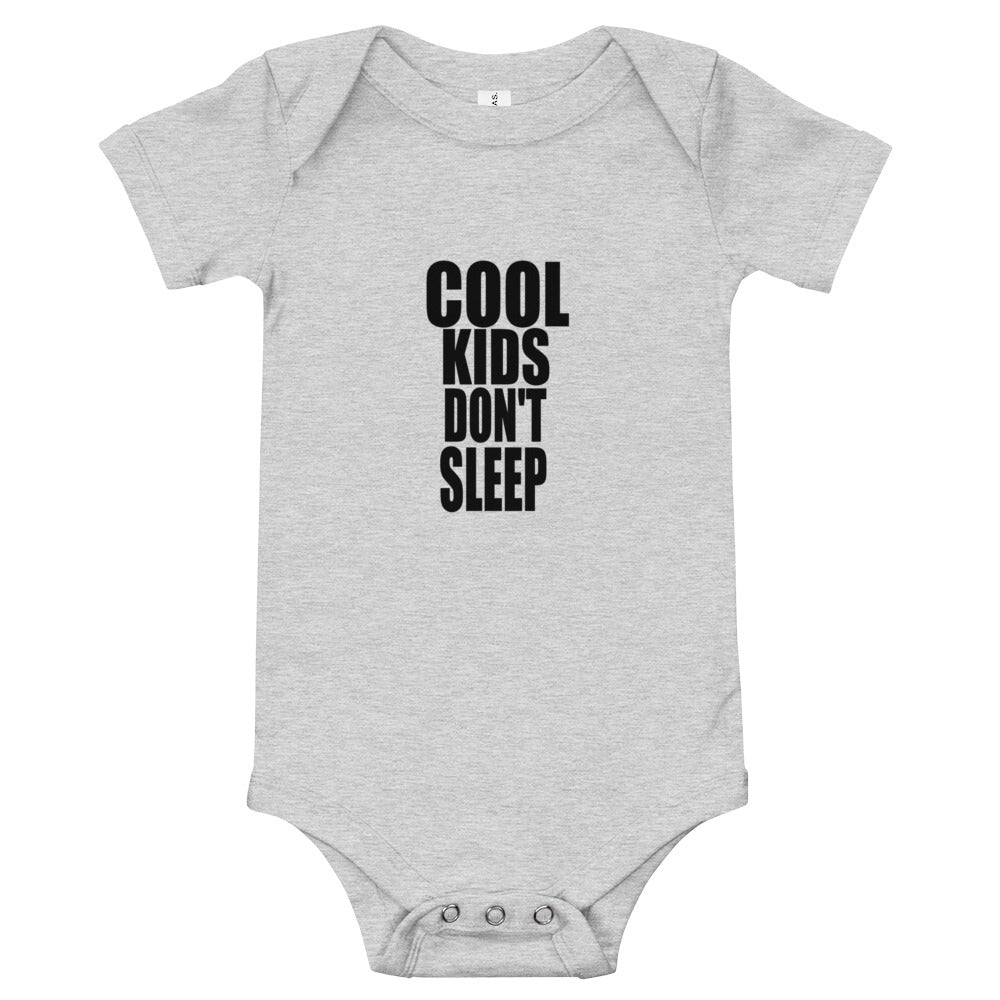 3M-24M One Piece COOL KIDS DON'T SLEEP