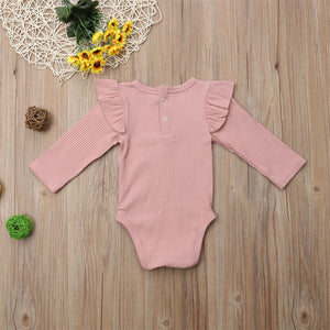 Flutter Sleeve Long Sleeve One Piece