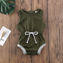 Load image into Gallery viewer, 3M-18M Sleeveless Romper