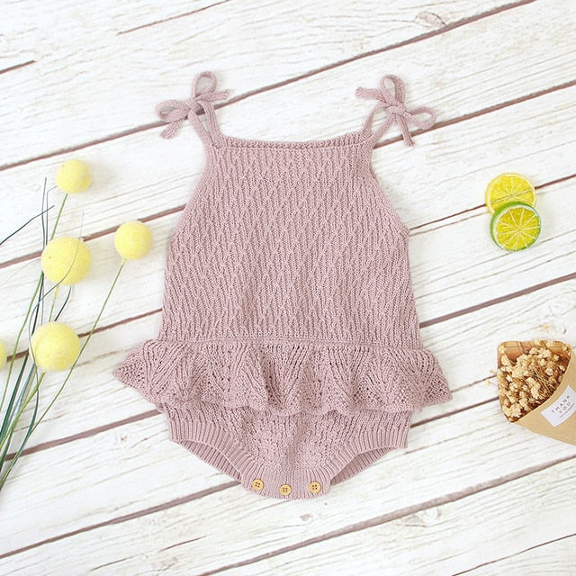 6M-24M Girls Knit One Piece
