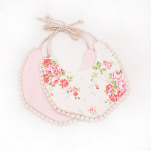 Baby Girl Cotton Bib