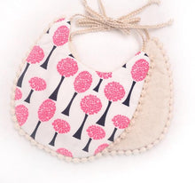 Load image into Gallery viewer, Baby Girl Cotton Bib