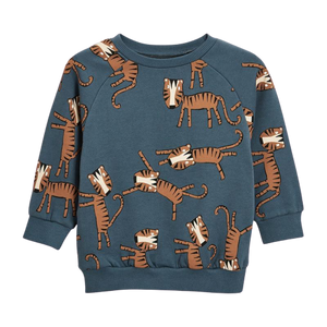 Printed Crewneck Sweatshirt - Tiger
