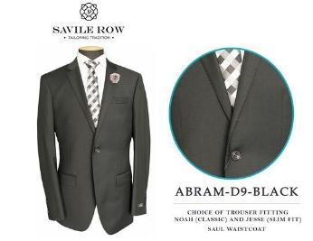 Savile Row Abram D-9 Black