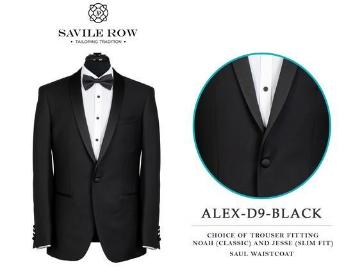 Savile Row Shawl Collar Dinner Suit