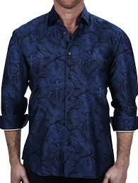 Maceoo Shirt - Lion Connected Blue