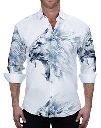 Maceoo Shirt - Lion Ferce White
