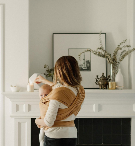 All-natural baby wraps made out of organic material