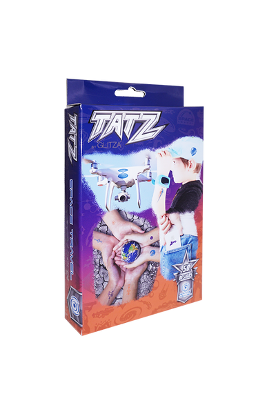 TATZ by Glitza  - Space Travel  50 designs - GLITZA™ Online Boutique