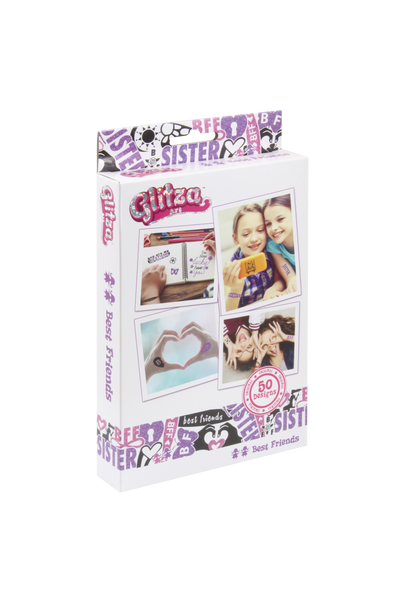 Glitza Art - Best Friends 50 designs - GLITZA™ Online Boutique