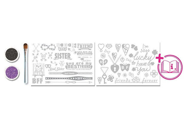 Glitza Art - Best Friends 50 designs