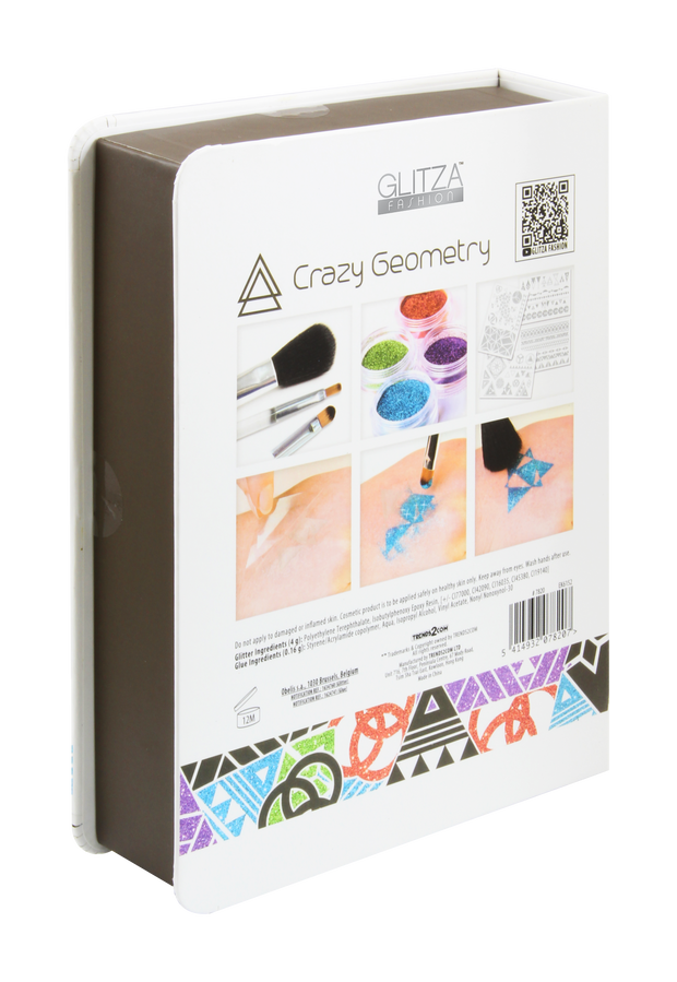 Glitza Fashion  - Deluxe giftbox Crazy Geometry