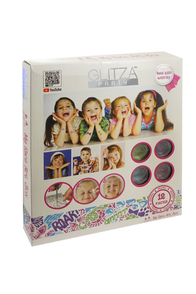 Glitza Party - My Face Art Box - GLITZA™ Online Boutique