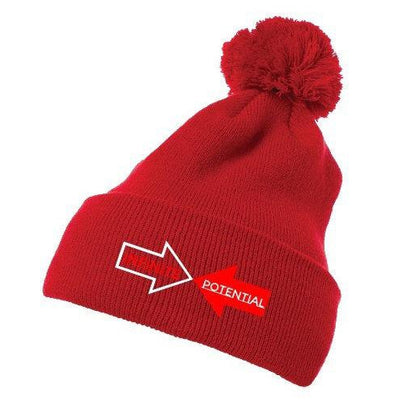 Red Infinityy Clothing Beanie