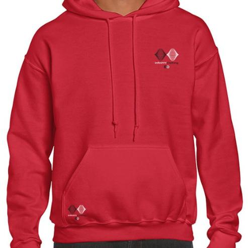 Red Infinityy Clothing Hoodie