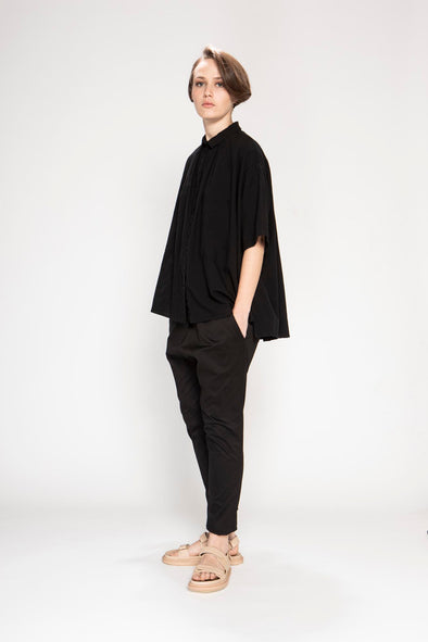 LOUISE SHIRT- black