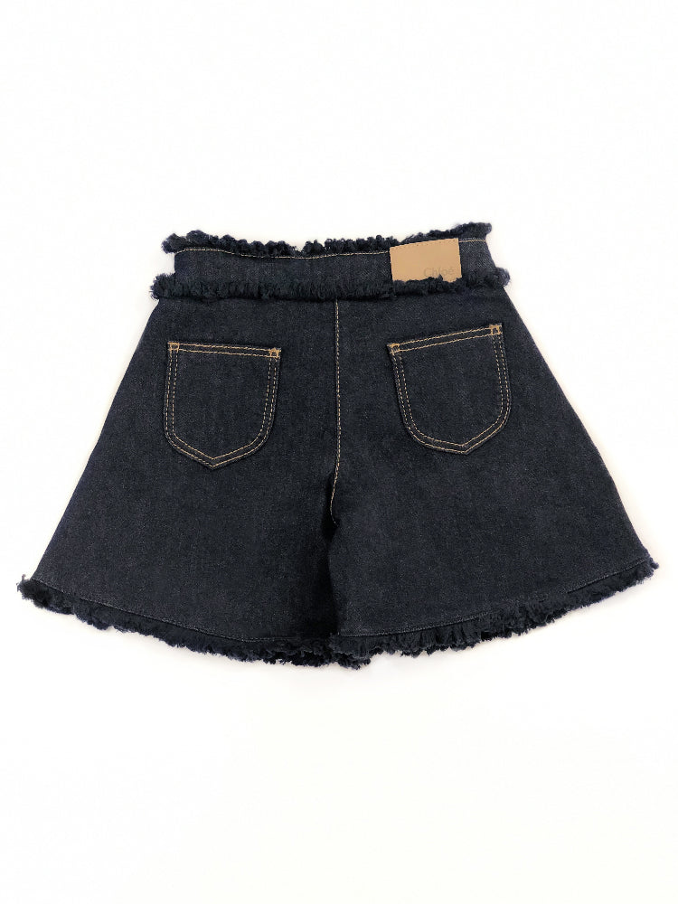 Jupe short Barcelone en denim