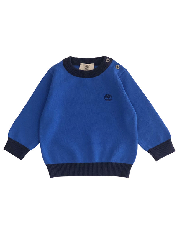 Pull tricot Madrid - col rond