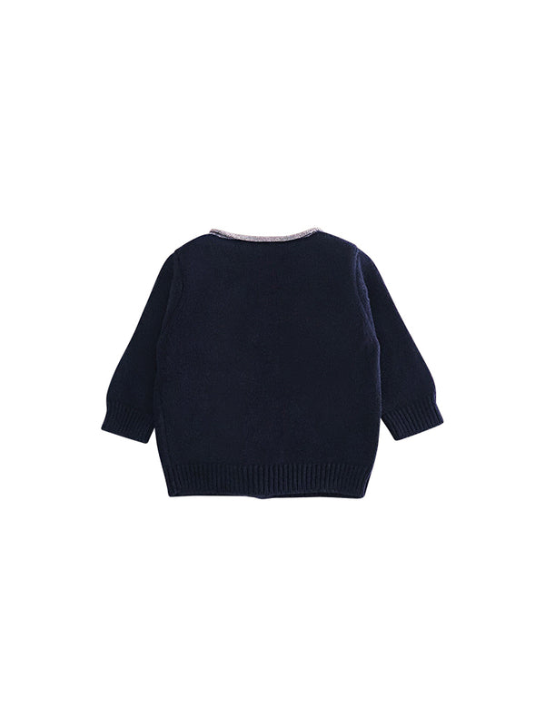 Cardigan en tricot London - point jersey