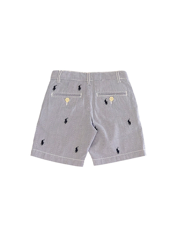 Short rayé en coton blend Mykonos - Poney