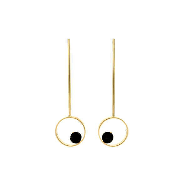 Orbita Gold Earrings
